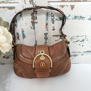 Coach leather hobo satchel